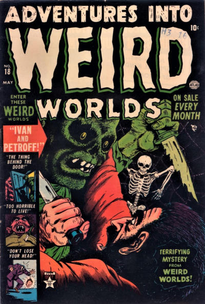 Cover for Adventures into Weird Worlds (Marvel, 1952 series) #18