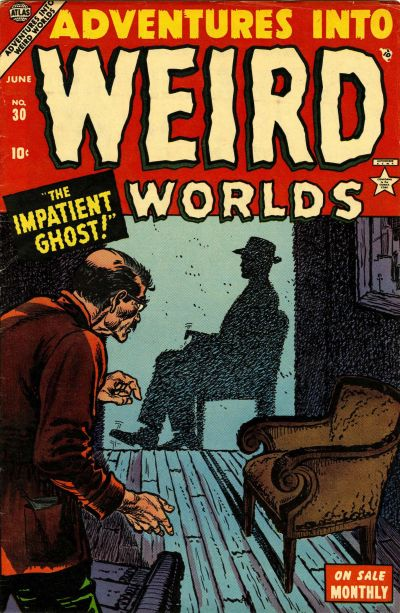 Cover for Adventures Into Weird Worlds (Marvel, 1952 series) #30