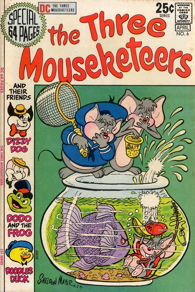 Cover for The Three Mouseketeers (DC, 1970 series) #6