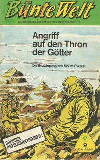 Cover Thumbnail for Bunte Welt (Lehning, 1967 series) #9
