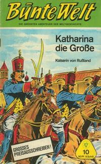 Cover Thumbnail for Bunte Welt (Lehning, 1967 series) #10