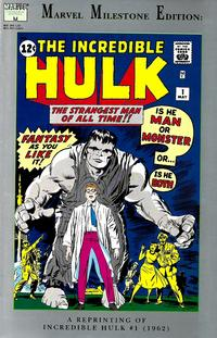 Cover Thumbnail for Marvel Milestone Edition: The Incredible Hulk #1 (Marvel, 1992 series)