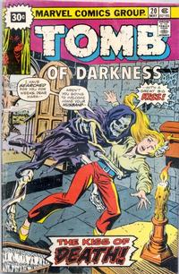 Cover Thumbnail for Tomb of Darkness (Marvel, 1974 series) #20 [30¢]