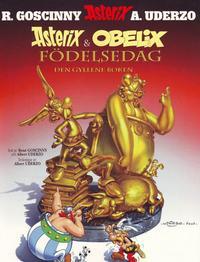 Cover Thumbnail for Asterix (Egmont, 1996 series) #34 - Asterix & Obelix födelsedag – Den gyllene boken