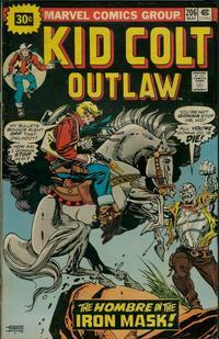 Cover Thumbnail for Kid Colt Outlaw (Marvel, 1949 series) #206 [30c Variant]
