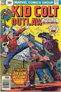 Cover Thumbnail for Kid Colt Outlaw (Marvel, 1949 series) #209 [30c Variant]