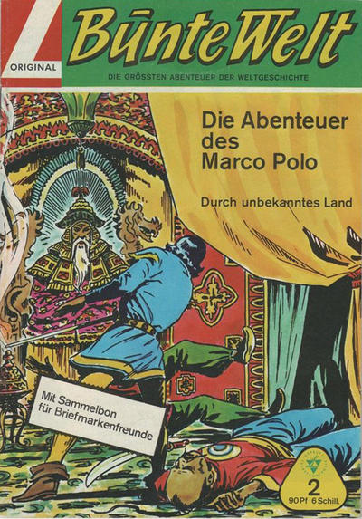 Cover for Bunte Welt (Lehning, 1967 series) #2