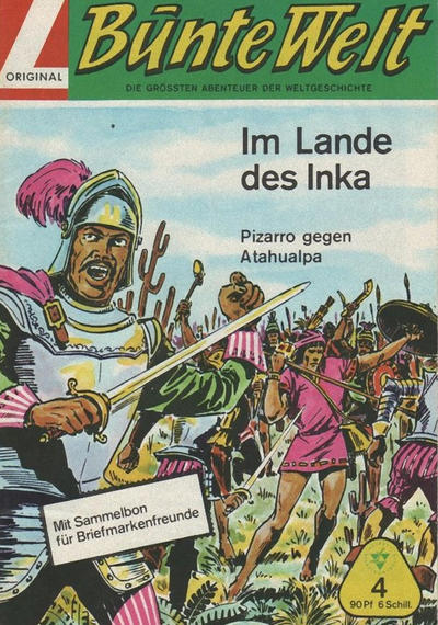 Cover for Bunte Welt (Lehning, 1967 series) #4