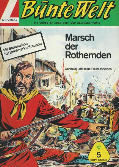 Cover for Bunte Welt (Lehning, 1967 series) #5