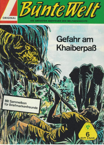 Cover for Bunte Welt (Lehning, 1967 series) #6