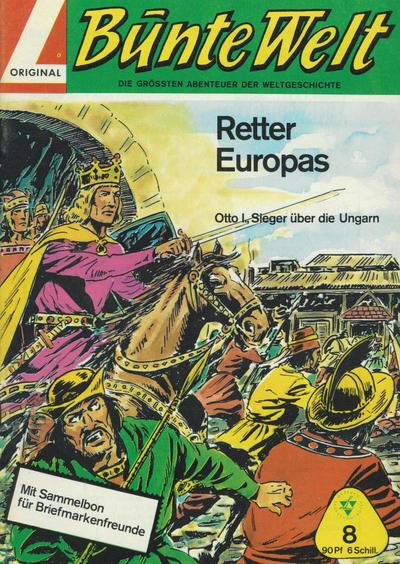 Cover for Bunte Welt (Lehning, 1967 series) #8