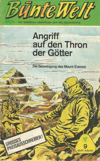 Cover for Bunte Welt (Lehning, 1967 series) #9