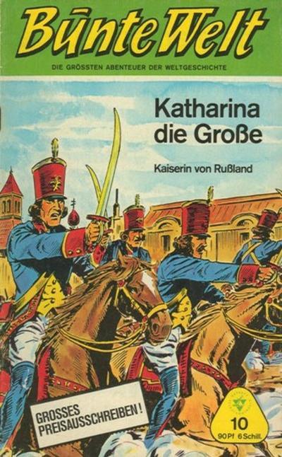 Cover for Bunte Welt (Lehning, 1967 series) #10
