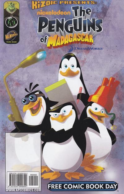 Cover for Kizoic Presents: Penguins of Madagascar FCBD 2010 / Kizoic Presents: Shrek FCBD 2010 (Ape Entertainment, 2010 series)