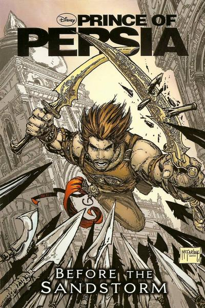 Cover for Prince of Persia: Before the Sandstorm (Disney, 2010 series) #[nn]