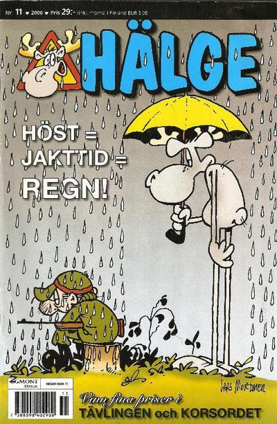 Cover for Hälge (Egmont, 2000 series) #11/2006