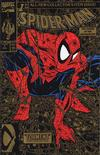 Cover for Spider-Man (Marvel, 1990 series) #1 [2nd Printing Gold Edition]