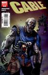 Cover for Cable (Marvel, 2008 series) #7 [Limited Zombie Variant]