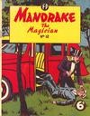 Cover for Mandrake the Magician (Feature Productions, 1950 ? series) #12