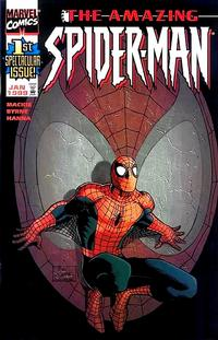 Cover Thumbnail for The Amazing Spider-Man (Marvel, 1999 series) #1 [The Romitas Variant Cover]