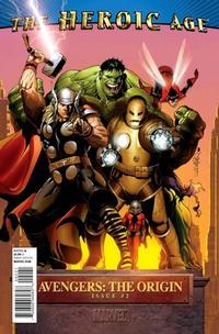Cover Thumbnail for Avengers: The Origin (Marvel, 2010 series) #2 [Heroic Age Variant]