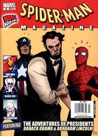 Cover Thumbnail for Spider-Man Magazine (Marvel, 2008 series) #9