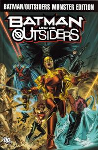 Cover Thumbnail for Batman & die Outsiders Monster Edition (Panini Deutschland, 2009 series) #1