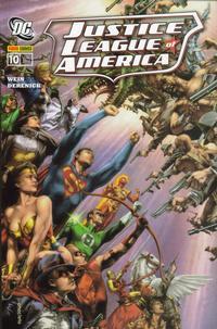 Cover Thumbnail for Justice League of America Sonderband (Panini Deutschland, 2007 series) #10 - Das Glück des Tüchtigen
