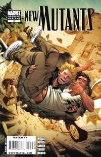 Cover Thumbnail for New Mutants (Marvel, 2009 series) #2 [Second Printing]