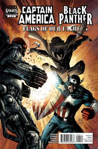 Cover Thumbnail for Captain America/Black Panther: Flags of Our Fathers (Marvel, 2010 series) #4