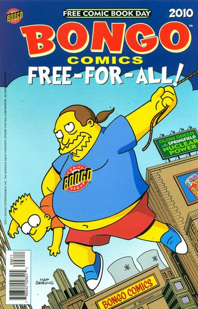 Cover for Bongo Comics Free-For-All! (Bongo, 2007 series) #[2010]