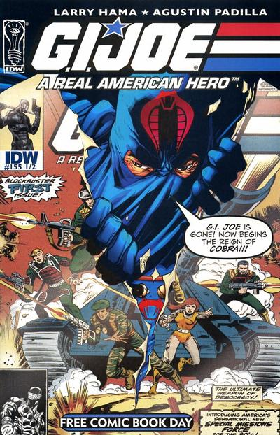 Cover for G.I. Joe: A Real American Hero (IDW, 2010 series) #155 1/2