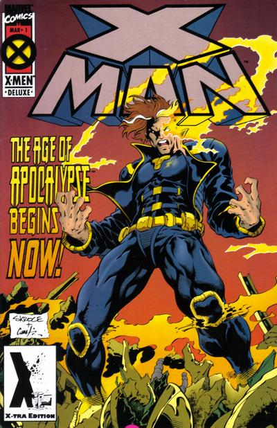 Cover for X-Man (Marvel, 1995 series) #1 [Direct Edition]