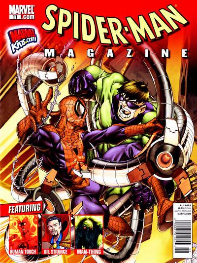 Cover for Spider-Man Magazine (Marvel, 2008 series) #11