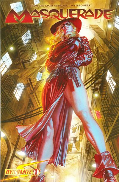 Cover for Masquerade (Dynamite Entertainment, 2009 series) #1 [Alex Ross Cover]