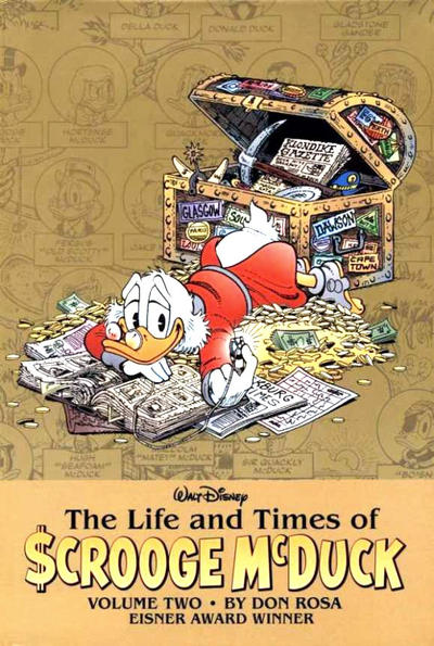 Cover for Walt Disney's The Life and Times of Scrooge McDuck by Don Rosa (Boom! Studios, 2009 series) #2