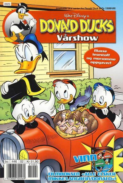 Cover for Donald Ducks Show (Hjemmet / Egmont, 1957 series) #[Vårshow 2009]