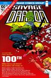 Cover for Savage Dragon (Image, 1993 series) #100 [2nd Print Variant]