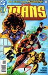 Cover Thumbnail for Titans (1999 series) #1 [Right-Side Cover Variant]
