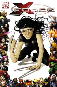 Cover Thumbnail for X-Force (Marvel, 2008 series) #18 [70th Frame Variant Cover]