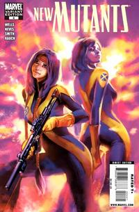 Cover Thumbnail for New Mutants (Marvel, 2009 series) #4 [Cover B - Benjamin Carré]