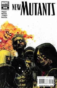 Cover Thumbnail for New Mutants (Marvel, 2009 series) #6 [Zombie Variant]