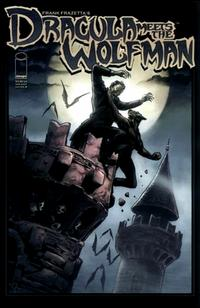 Cover Thumbnail for Frank Frazetta's Dracula Meets the Wolfman (Image, 2008 series)  [Cover B]