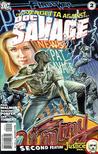 Cover for Doc Savage (DC, 2010 series) #2 [John Cassaday Variant Cover]
