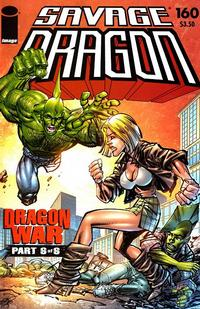 Cover Thumbnail for Savage Dragon (Image, 1993 series) #160