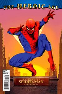 Cover Thumbnail for The Amazing Spider-Man (Marvel, 1999 series) #631 [Heroic Age Variant]