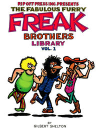 Cover Thumbnail for The Fabulous Furry Freak Brothers Library (Rip Off Press, 1988 series) #1 [First printing]