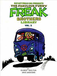 Cover Thumbnail for The Fabulous Furry Freak Brothers Library (Rip Off Press, 1988 series) #2