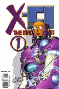 Cover for X-51 (Marvel, 1999 series) #1 [White Variant]