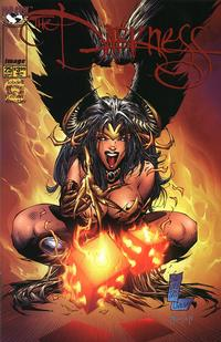 Cover Thumbnail for The Darkness (Image, 1996 series) #25 [Silvestri Variant]